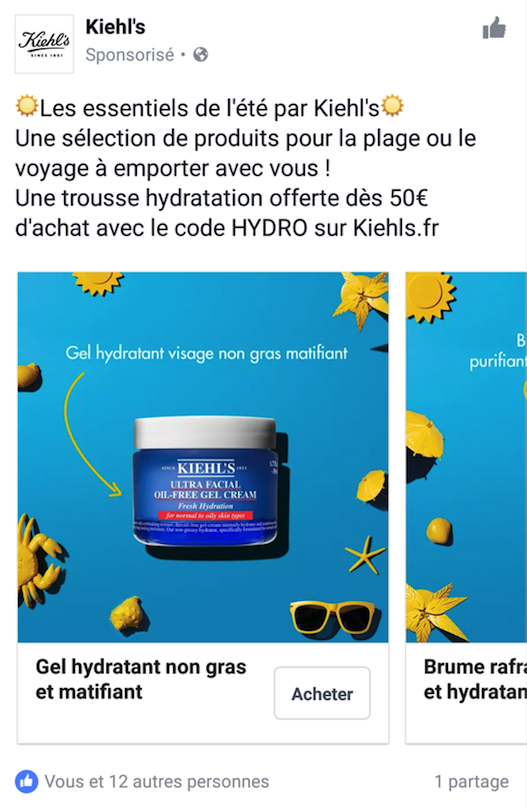 kiehls-facebook-ads